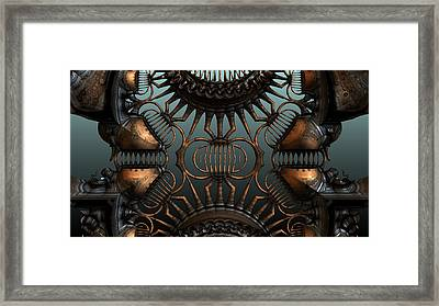 Steampunk Alcohol Still Framed Print