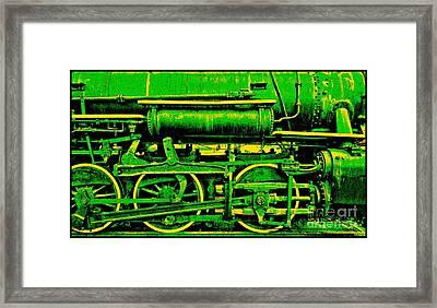 Steampunk Iron Horse No. 3 Framed Print