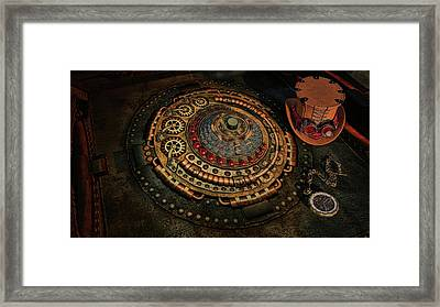 Framed Print featuring the photograph Steampunk by Louis Ferreira