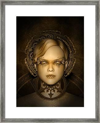 Steampunk Machine Framed Print by Britta Glodde
