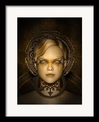 Recently Sold -  - Mechanics Digital Art Framed Prints