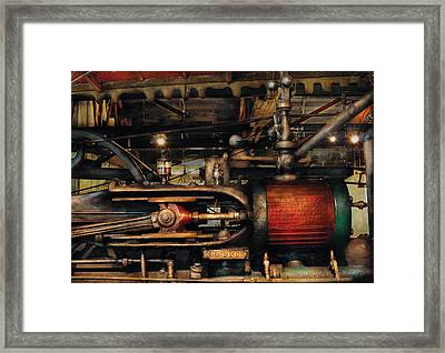 Steampunk - No 8431 Framed Print by Mike Savad