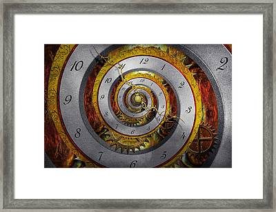 Steampunk - Spiral - Infinite Time Framed Print