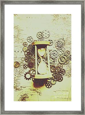 Steampunk Time Framed Print by Jorgo Photography - Wall Art Gallery