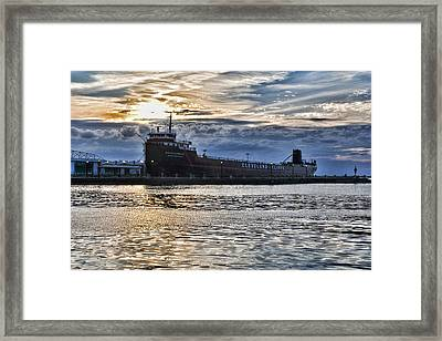 Steamship William G. Mather - 1 Framed Print