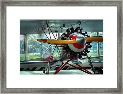 Stearman C-3b Framed Print by David Patterson