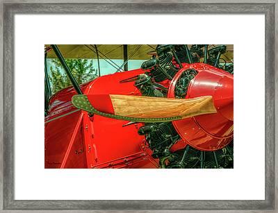 Stearman C3b Biplane Framed Print