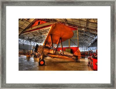 Stearman II Framed Print by Jason Evans