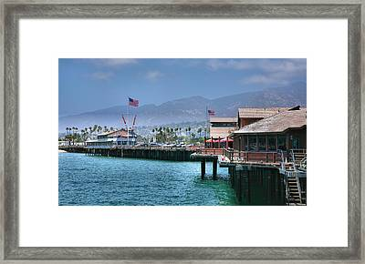 Stearn's Wharf IIi Framed Print by Steven Ainsworth