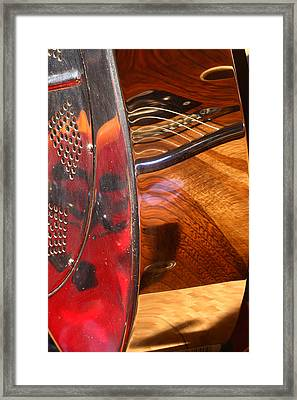 Steel And Wood 2 Framed Print by Art Ferrier
