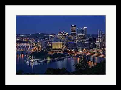 Rivers Ohio Framed Prints