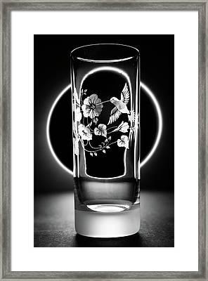 Steel High Ball Framed Print by Rob Chandler