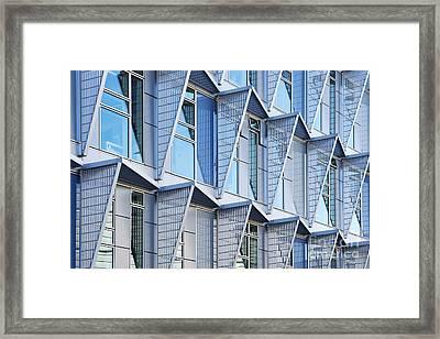Steel N Glass Framed Print