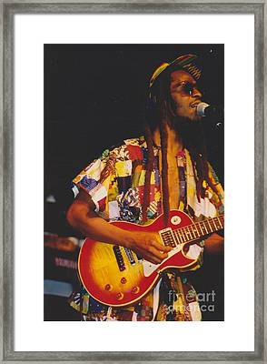 Steel Pulse Frontman David Hinds Framed Print