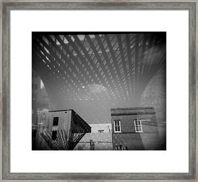 Steel Standing Framed Print by Paul Anderson