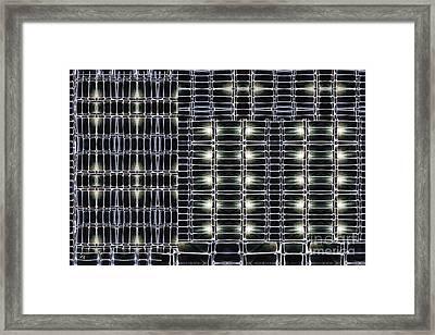 Steel Studs 2 Framed Print by Ron Bissett