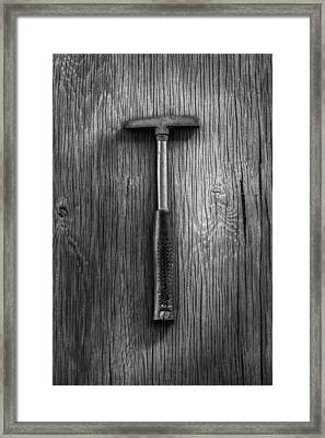 Steel Tack Hammer Framed Print