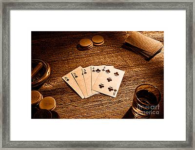 Steel Wheel - Sepia Framed Print by Olivier Le Queinec