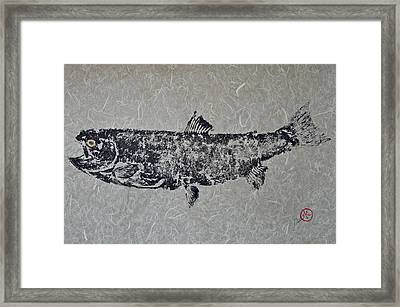 Steelhead Salmon - Smoked Salmon Framed Print by Jeffrey Canha