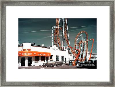 Framed Print featuring the photograph Steel's Fudge by John Rizzuto