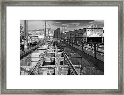 Steelyard Tracks 1 Framed Print