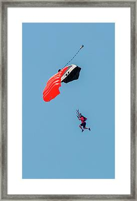 Steep Angle Framed Print by Norman Johnson