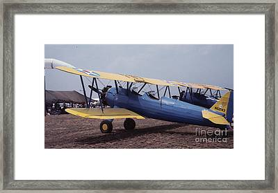 Framed Print featuring the photograph Steerman by Donald Paczynski