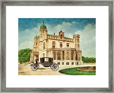 Stein Palace Framed Print by Mo T