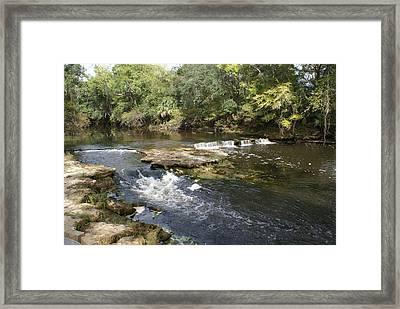 Steinhatchee Falls Framed Print by Debbie May