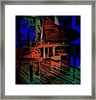 Steinway Piano Framed Print