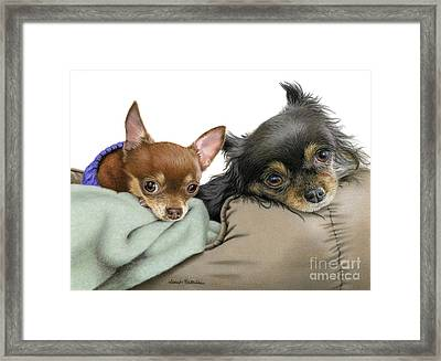 Stella And Nettie Framed Print