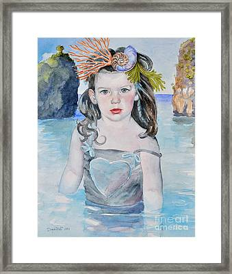 Stella Silver Mermaid Framed Print