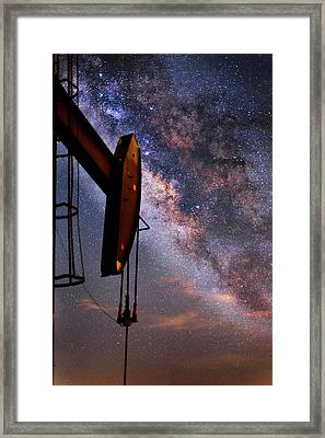 Stellar Energy Framed Print by Matt Smith