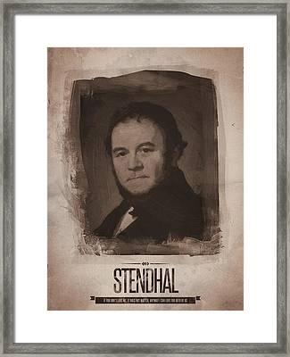 Stendhal Framed Print by Afterdarkness