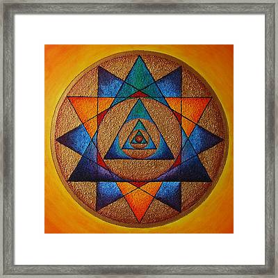 Step Inside Framed Print