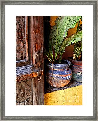 Step Inside Framed Print by Mexicolors Art Photography