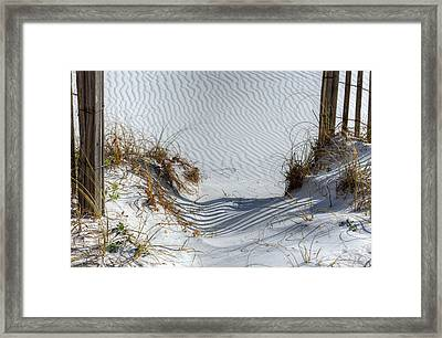 Step Into The Paradise Of South Walton County Framed Print by JC Findley