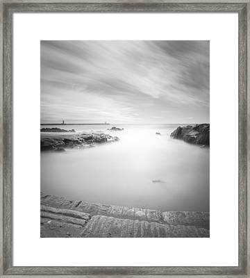Step Into The Unknown Framed Print