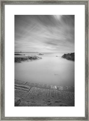 Step Into The Unknown Part 2 Framed Print