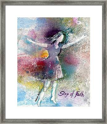 Step Of Faith Framed Print