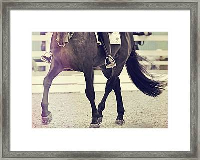 Step Up And Under Framed Print by Jamart Photography