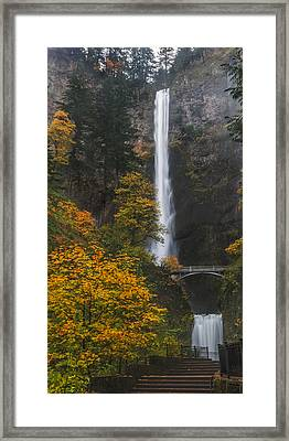 Step Up To Multnomah Framed Print