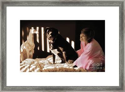 Steph And Cayenne Palm Desert California 2010 Framed Print