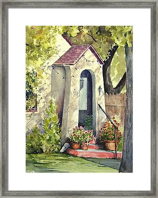 Stephanie's Porch Framed Print