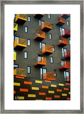 Stepped Living Framed Print by Jez C Self