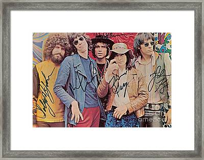 Steppenwolf Autographed Poster Framed Print by Pd