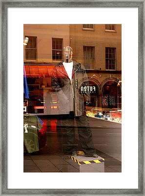 Steppin In Framed Print by Jez C Self