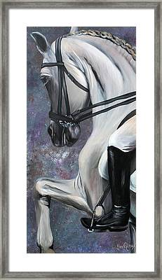 Steppin' Out Framed Print by Cher Devereaux