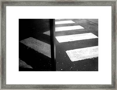 Steppin Out Framed Print by Jez C Self