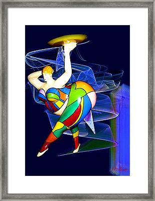 Steppin Out Framed Print by Michael Durst